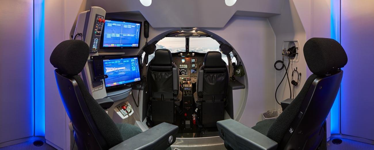 Simulator Innenansicht